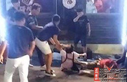 """资讯生活【图】游客在韩殴打女同胞 毫无原因实施暴行 并导致安某""""脑出血""""(组图)"""